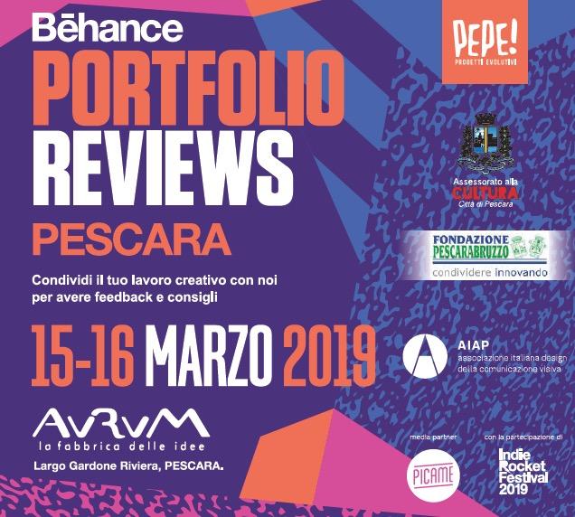 Behance Portfolio Reviews 2019
