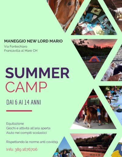 summer camps maneggio